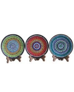 Mandala Art Ceramic Plate