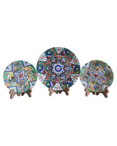 Floral Ceramic Wall Plates