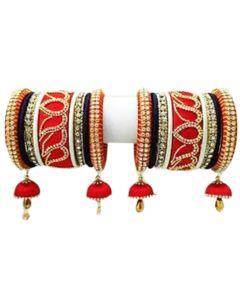 Jhumki Jhumka Silk Thread Bangles