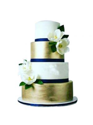 Beautiful 4 Round Cake