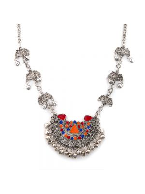 Afghani Pendant ChainNecklace