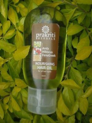 Nourishing  Amla  Hibiscus Fenugreek Hair Oil