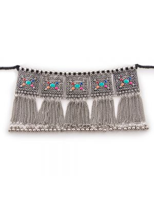 Avni Creation Multi colour Chain Choker