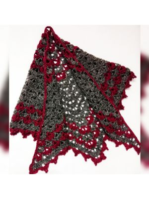 Crochet Adult Triangular Shawl