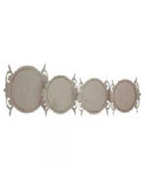 Designer oval frame-2