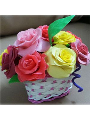 Dry Clay Flowers