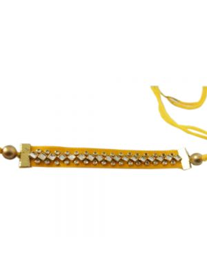 Handmade Rakhi-Yellow