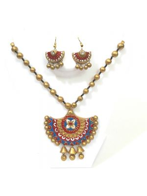 Terracotta Necklace Set