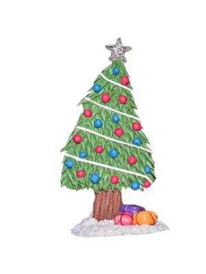 X-Mas Tree Fridge Magnet