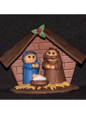 Jesus Birth Fridge Magnet