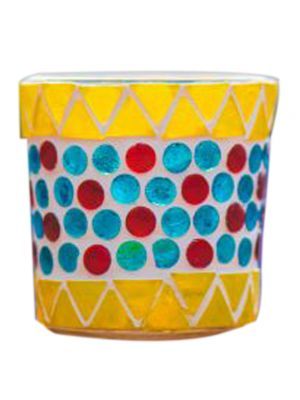 Yellow Candle Holder