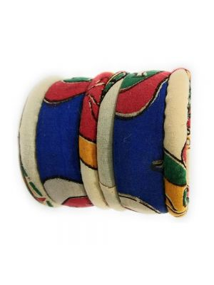 Kalamkari Fabric Bangles for Women