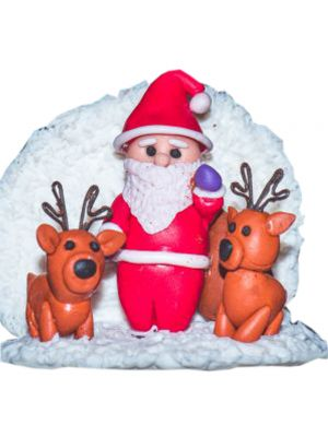 Santa Fridge Magnet