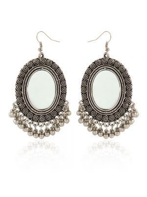 Tribal Mirror Earings