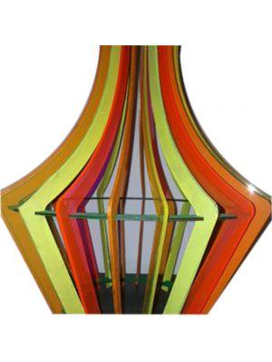Wooden Jhoomar Lamp