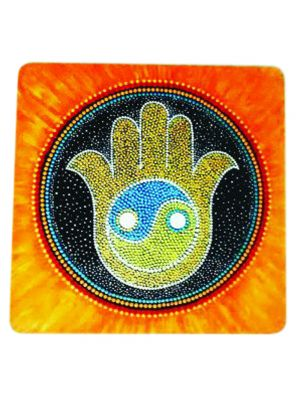 Dot painting God's Hand - HAMSA