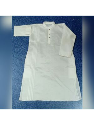 Gents Pure White Kurta
