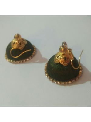 Silk Thread Jhumka