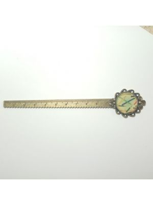 Long Metal Bookmark With Scale