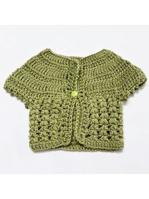 BABY GIRLS CROCHET CARDIGAN