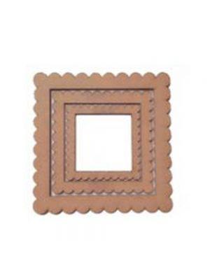 Scallap frame