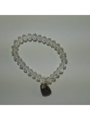 White Beat Stretchable Bracelet