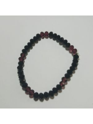 Black Beat Stretchable Bracelet