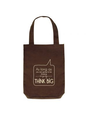 I Saw That - Eclectic Tote (Brown, green)