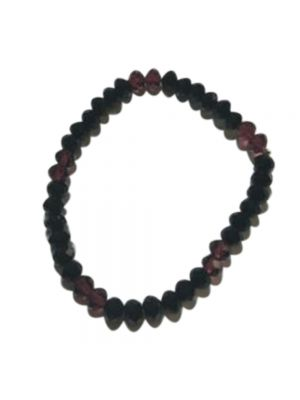 Black Beat Stretchable Bracelet