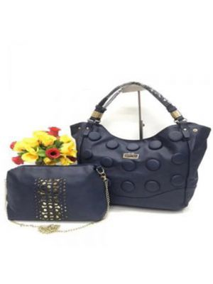 Jimmy Choo Navy Blue Purse