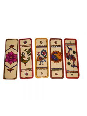 Madhubani Bookmarks