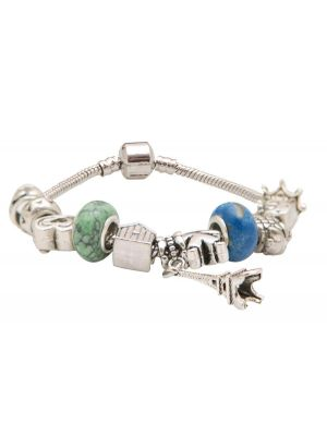 Perles Blue Charm Bracelet