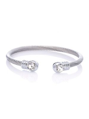 Stainless Steel Horsehair Cuff