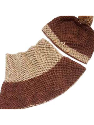 Crochet Cap & Cowl Set for an Adult