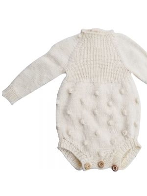 Baby Romper Made With Soft Wool