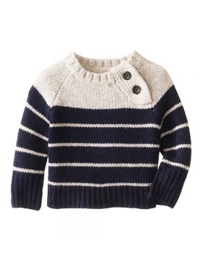 Stylish Woolen Sweater With Side Buttons