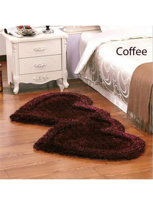 Brown Colour Bed side runner