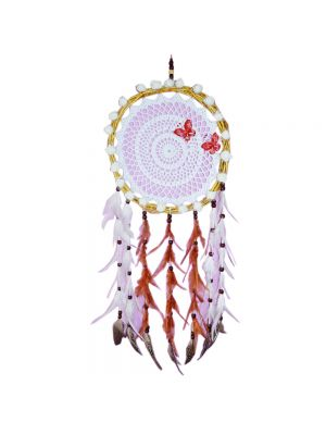 Native Natural Cord Dream Catcher