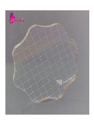 Round Acrylic Stamping Block- Large