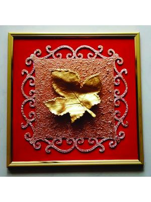 Golden Leaf Painting
