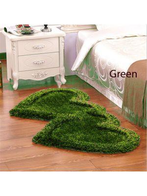 Green Colour Bed side runner