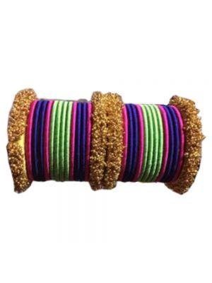 Silk Thread Multi-Color Bangle