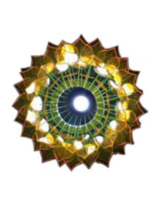 Acrylic Pineapple Jhoomar Lamp