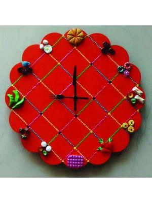 Kitchen FOOD Wall Clock
