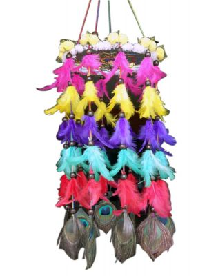 Multi Color Chandelier Dream Catcher