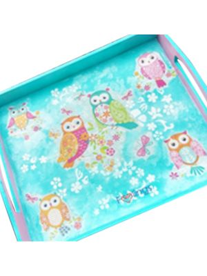 Owl Wooden Tray