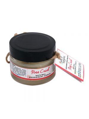 Rose Crush Natural Deodorant Cream