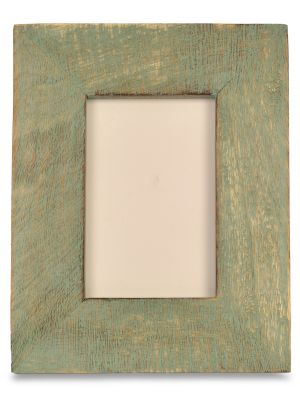 Hand painted Wooden Carving Photo Frame 5*7