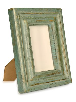 Photo Frame 5*7-Hand painted Wooden Carving