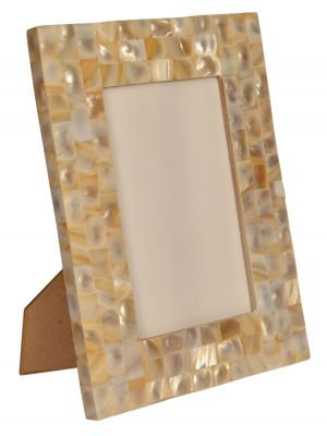 PHOTO FRAME- 5*7 MOTHER OF PEARL/SEA SHELL PHOTO FRAME